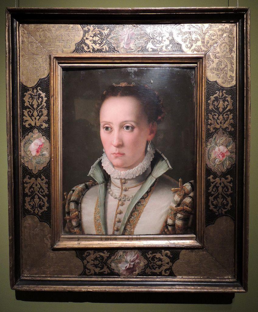 Agnolo Bronzino, Portrait of a Lady    Budapest Museum of Fine Arts (Szépművészeti Múzeum), Budapest, Hungary