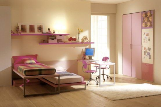 Yume Teen Romantic Bedroom Pink For The Girls   The Blue Room Looks  Marvelous For The