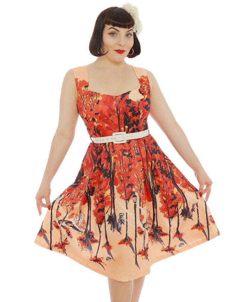 6bca654123c46 'Nellie' Pink Fox Print Swing Dress - Swing Dresses - Shop by Shape -  Dresses