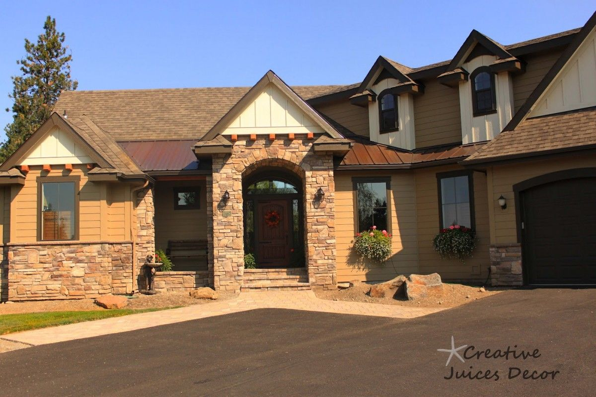 stone home exteriors : home design decorating and remodeling ideas