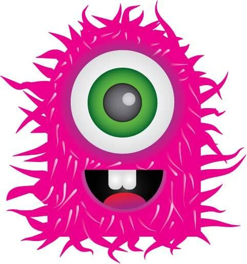 ch b pink monster clipart free clip art images lil monsters rh pinterest com au monster clipart images monsters clip art free