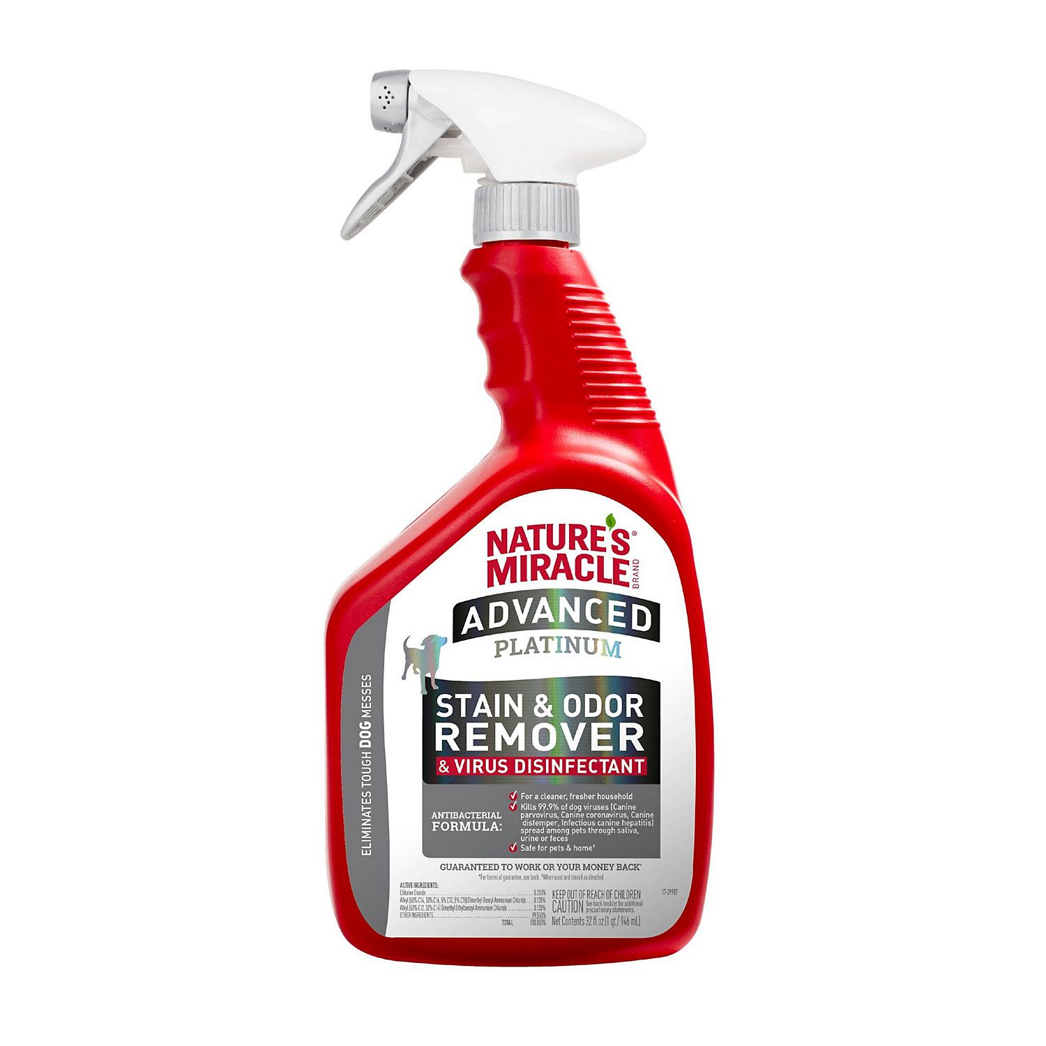 Nature's Miracle Advanced Platinum Stain & Odor Remover and