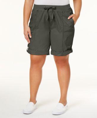 CALVIN KLEIN Calvin Klein Performance Plus Size Cargo Shorts. #calvinklein #cloth # shorts