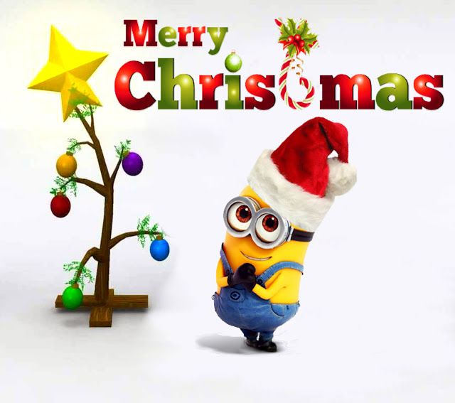 free christmas pictures minion minions weihnachten. Black Bedroom Furniture Sets. Home Design Ideas