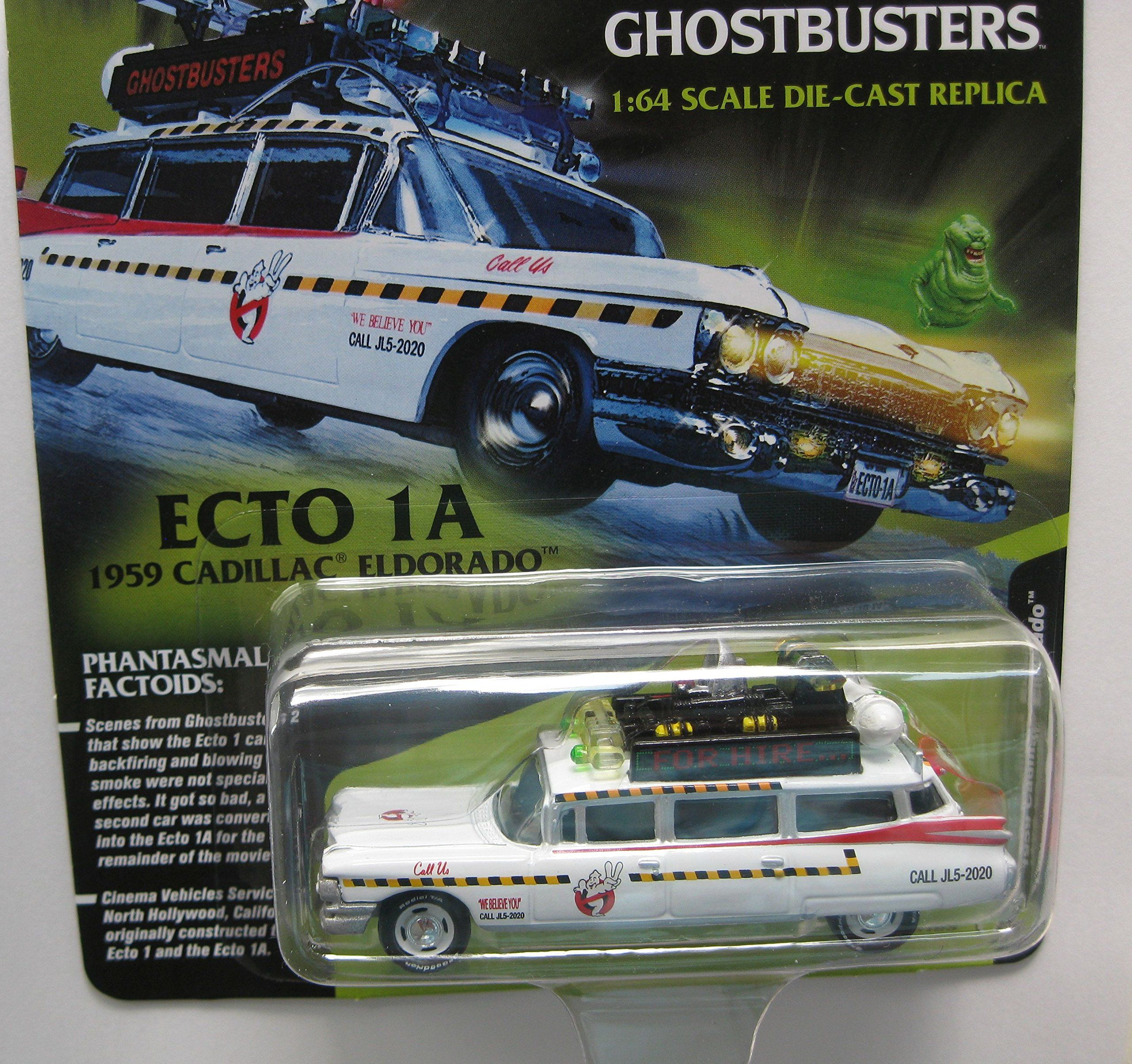 Johnny Lightning JLSS  Cadillac Ghostbusters EctoA from
