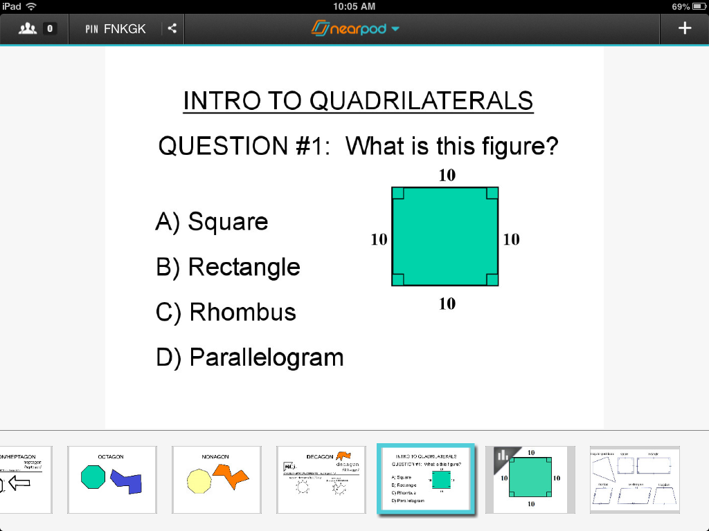 Mathy Cathy shares how Nearpod helped make a good question better ...