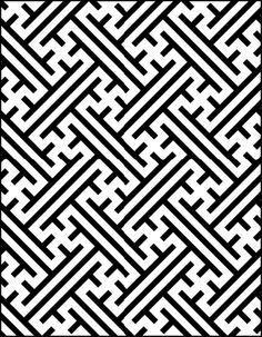 simple aztec pattern t...