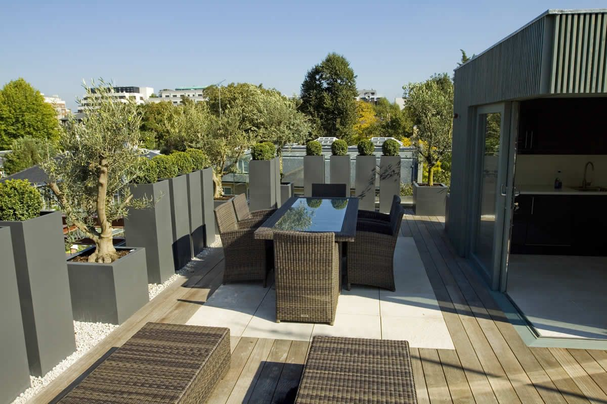 Roof Terrace Garden Design rooftop terrace design ideas Roof Terrace 14 Roof Terrace Design Projects Garden Design London