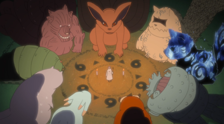 Baby Tailed Beasts Wouldnt' they make great plush toys