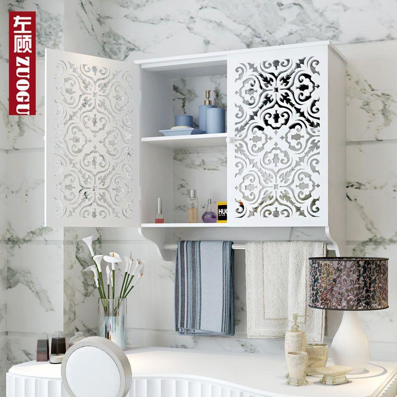 armoire de toilette de salle de bain de salle de bains racks tanche salle de bains tag re. Black Bedroom Furniture Sets. Home Design Ideas