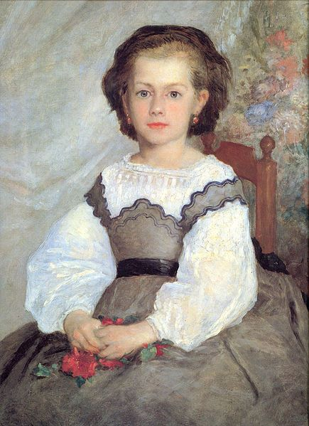 Pierre-Auguste RENOIR - Mademoiselle Romaine