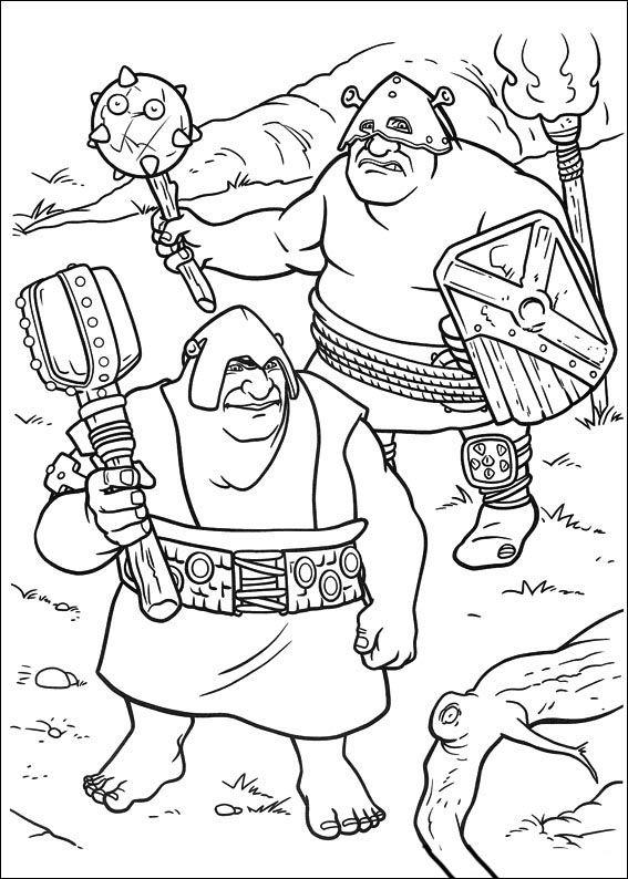 Dibujos para Colorear Shrek 119 | Dibujos para colorear para niños ...