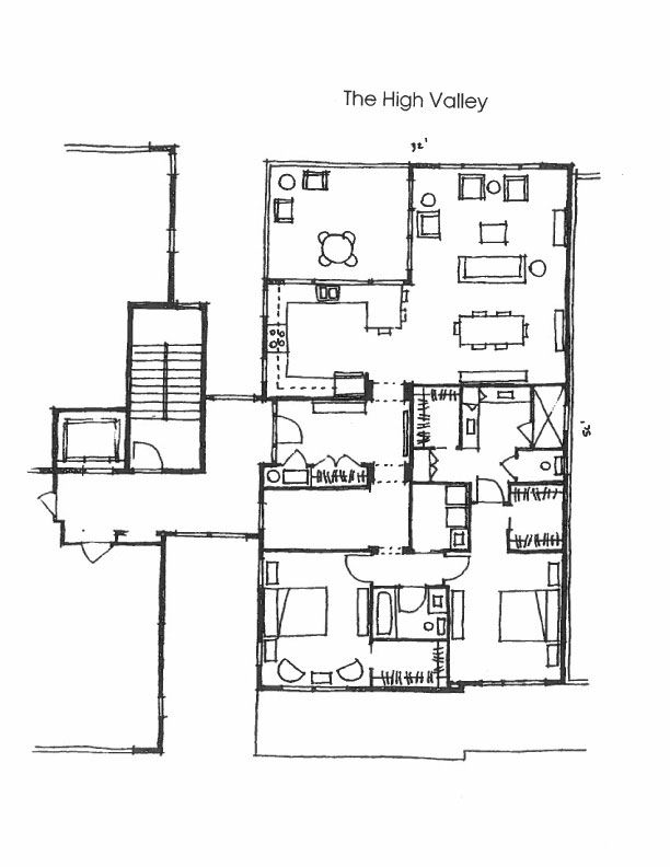 The High Valley Floor Plan The Bridge Townhomes Waterfront