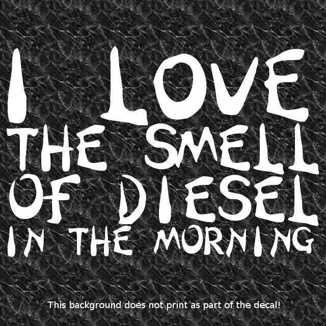 SMELL DECAL SUPERCHARGER SUPERCHARGED DIESEL TURBO CUMMIN COAL ROLLER SOOT BURN