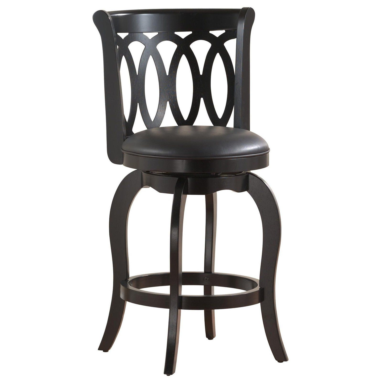 Have To Have It Scrollback 24 Inch Swivel Counter Stool