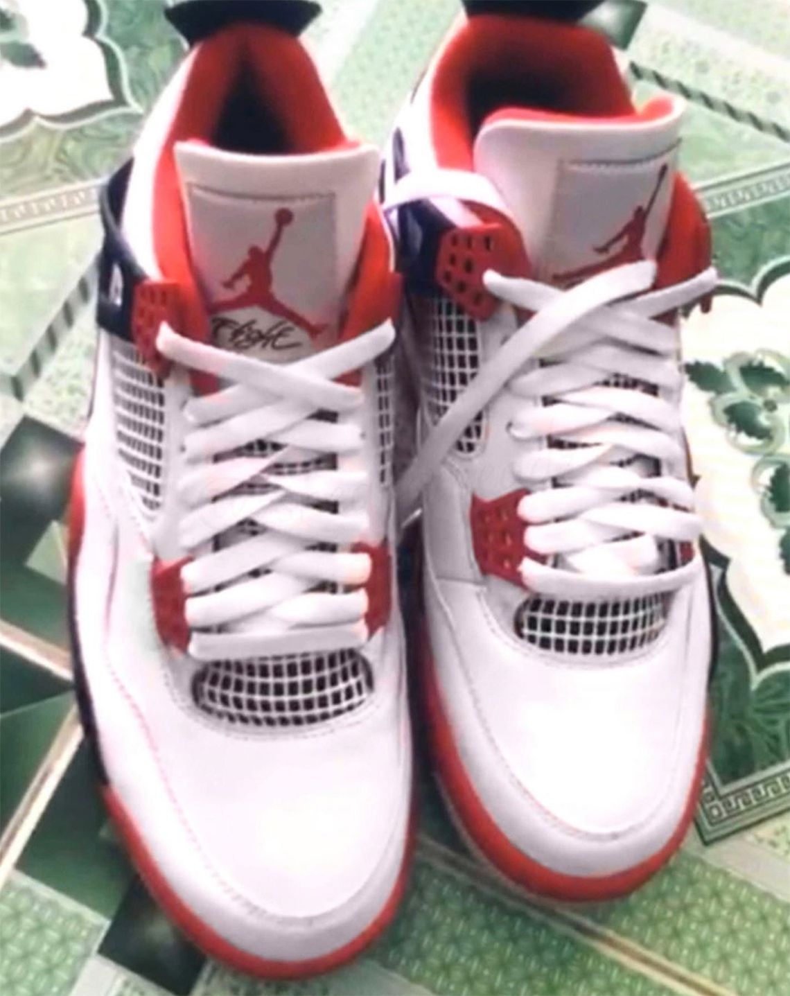First Look At The Air Jordan 4 Fire Red Releasing Black Friday 2020 In 2020 Air Jordans Air Jordans Retro Sneakers