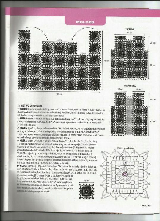Gallery.ru / Фото #25 - Tejido practico Crochet Calados 2013-03 ...
