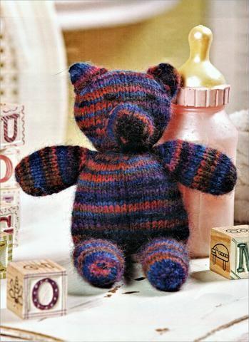 Cute little teddy bear knitting pattern | Teddy bear ...