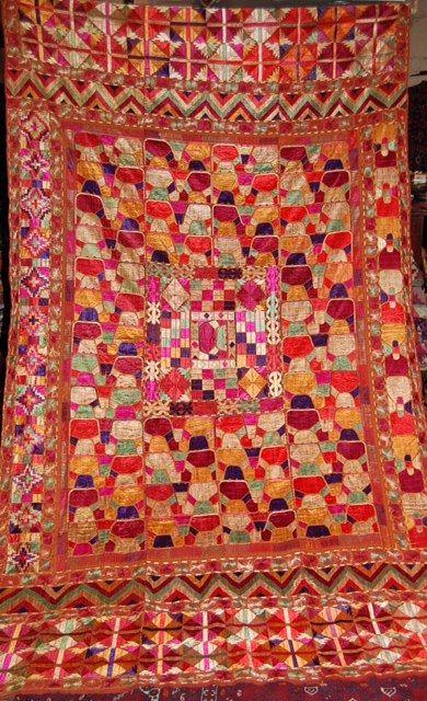 Thai Textile Society -- Collectors Corner -Pakistani Wedding Shawl