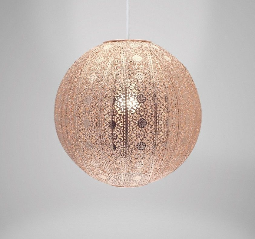 Country club easy fit 30cm moroccan ball ceiling light shade copper country club easy fit 30cm moroccan ball ceiling light shade copper online kitchenware aloadofball Images