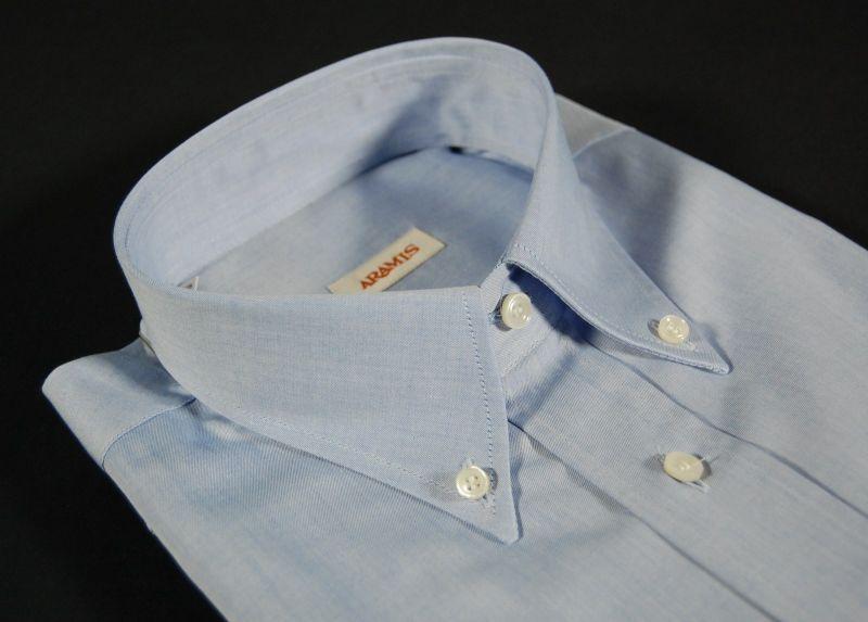 0369d6209f7d06 Camicia aramis azzurra button down con taschino a soli 49,00 Euro con  spedizione Italia Gratis.