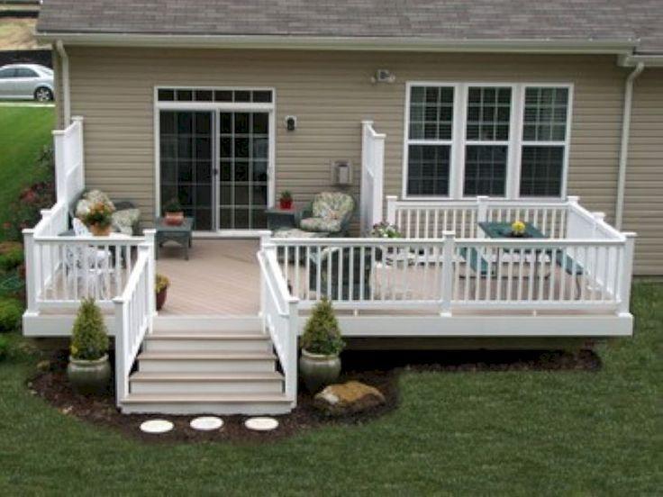 Awesome 66 Fabulous Backyard Patio Deck Decoration Ideas  Https://wartaku.net/