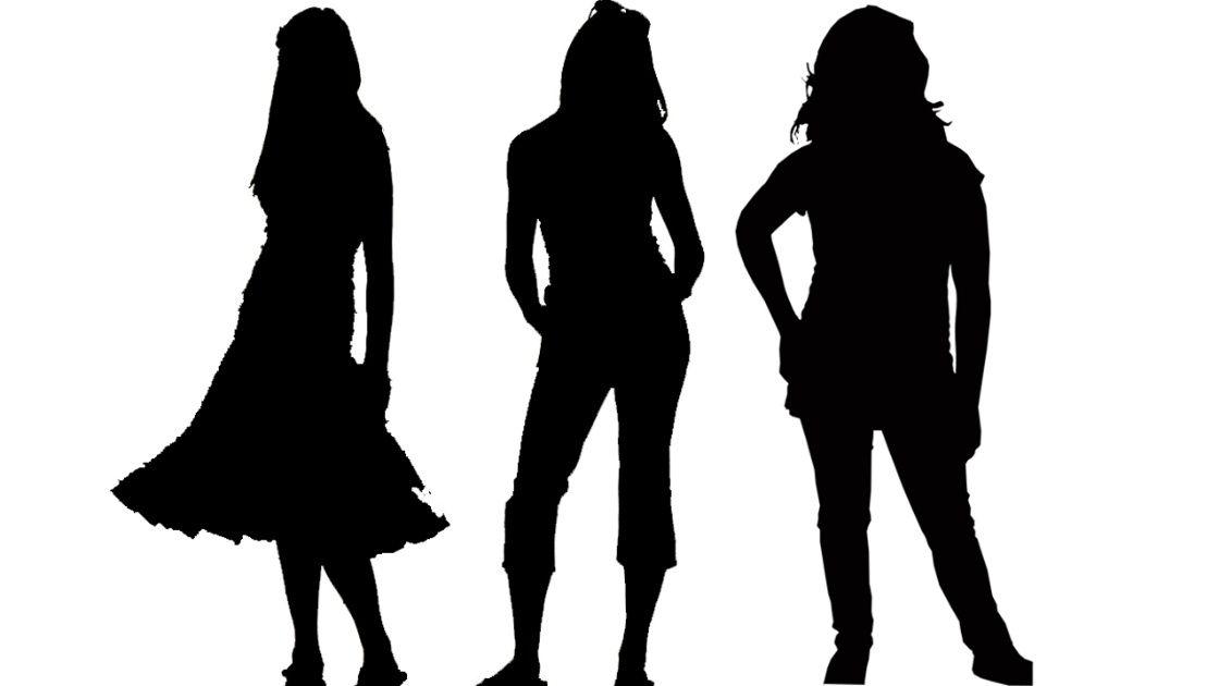 Silhouette Teenage Girls  Mom Calls Out Trash Talking -7313