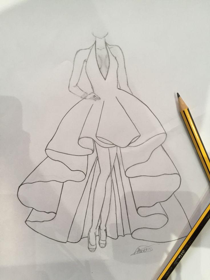 Resultat De Recherche D Images Pour رسومات فساتين Fashion Drawing Female Sketch Image