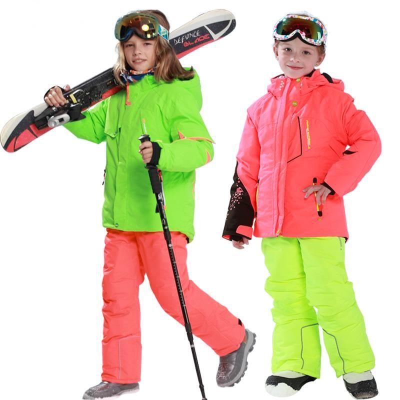 4af52b474 Phibee Kids Ski Jacket Windproof Waterproof Kids Snowboard Jacket ...
