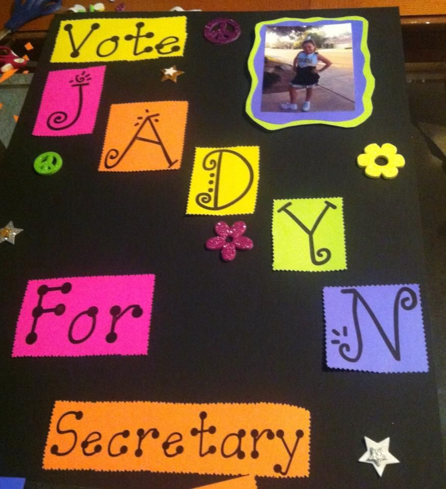 Jadyn's Election Poster