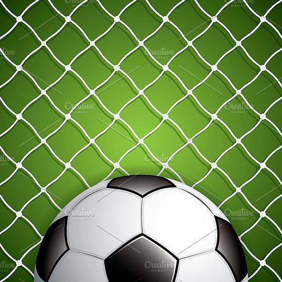 Soccer Ball In Net Soccer Ball Soccer Ball