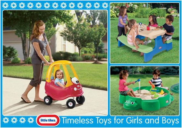 Timeless Little Tikes Toys for Girls and Boys
