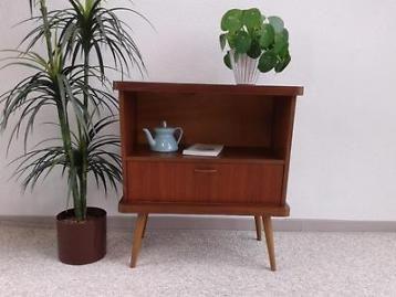 Retro Design Kastje : Leuk radiomeubel radio retro design vintage teak kastje ´60