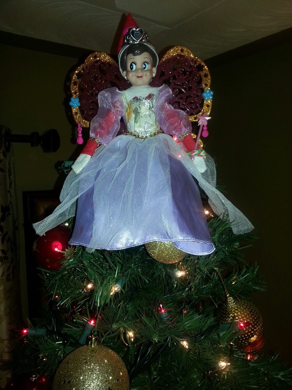 Tree Top Angel Elf