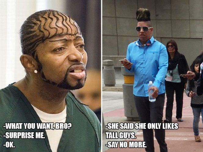 Funny Memes About Tall Guys : Stupid haircuts funny pictures tall guys and funny