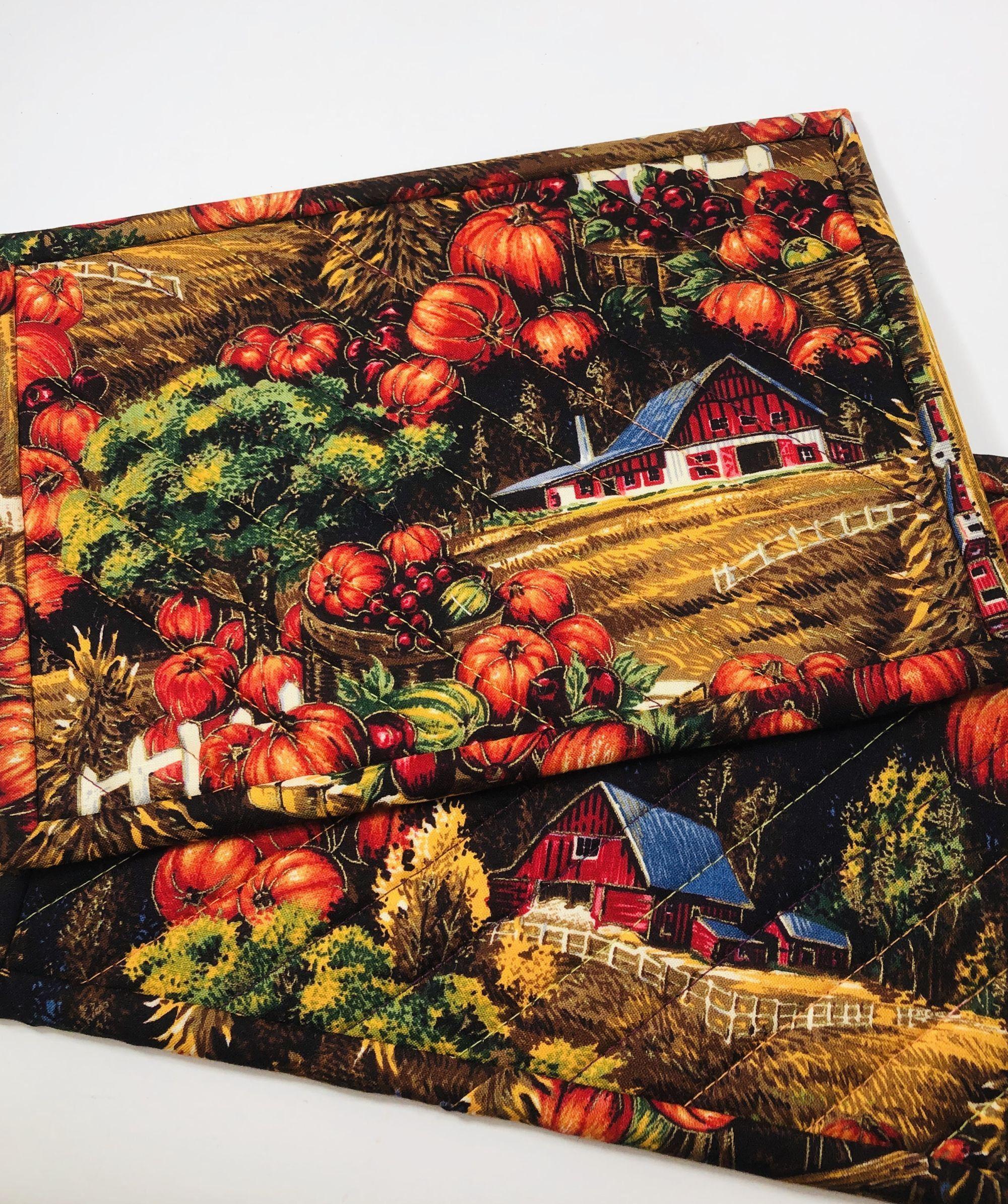 Momma Bear Design Mug Rug Placemat Table Mat Large Coaster Mona/'s Sewing Treasures 9.5x6.5
