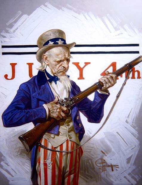 J.C. Leyendecker - Uncle Sam