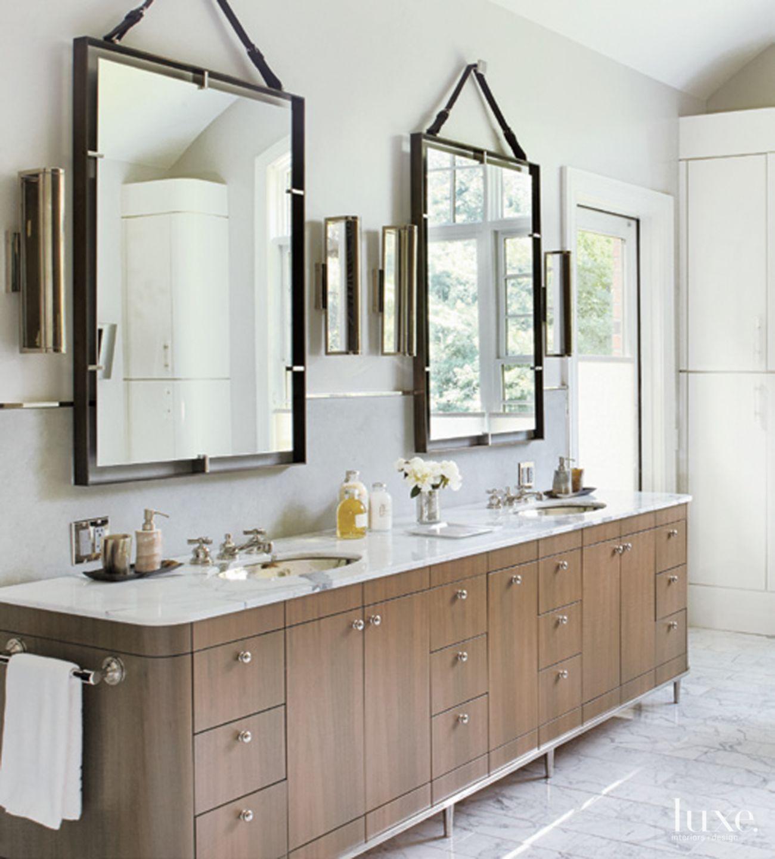 Medium cabinets with marble countertop #marble #countertop #bathroom ...