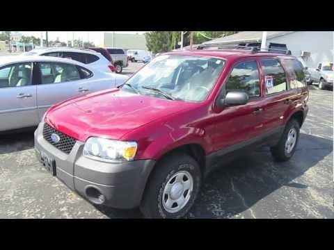 2006 Ford Escape Walk Around Tour And Review Ford Review Escape Suv Ford Escape Ford Suv