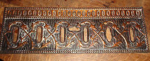 Arts Crafts Copper Chicago Mansion Fixture