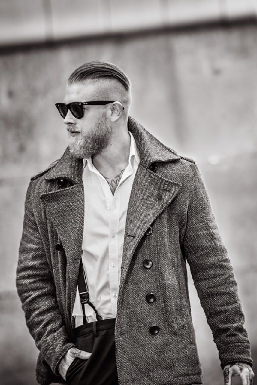 Undercut, Style Men, Barber, Free Spirit, Wet Hair, Pompadour, Bikers, Men  With Style, Beard Barber