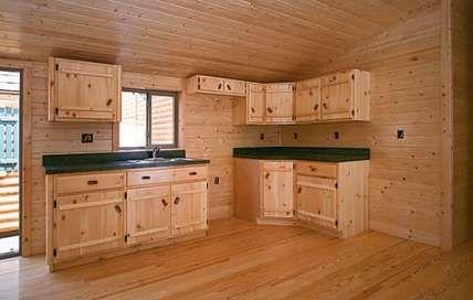 Kitchen rustic small log cabins 62 best Ideas #kitchen ...
