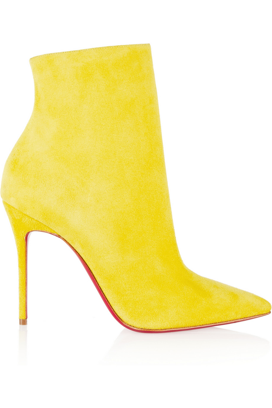d3c0c5f27f1 CHRISTIAN LOUBOUTIN So Kate 100 suede ankle boots   Citrus Colors ...