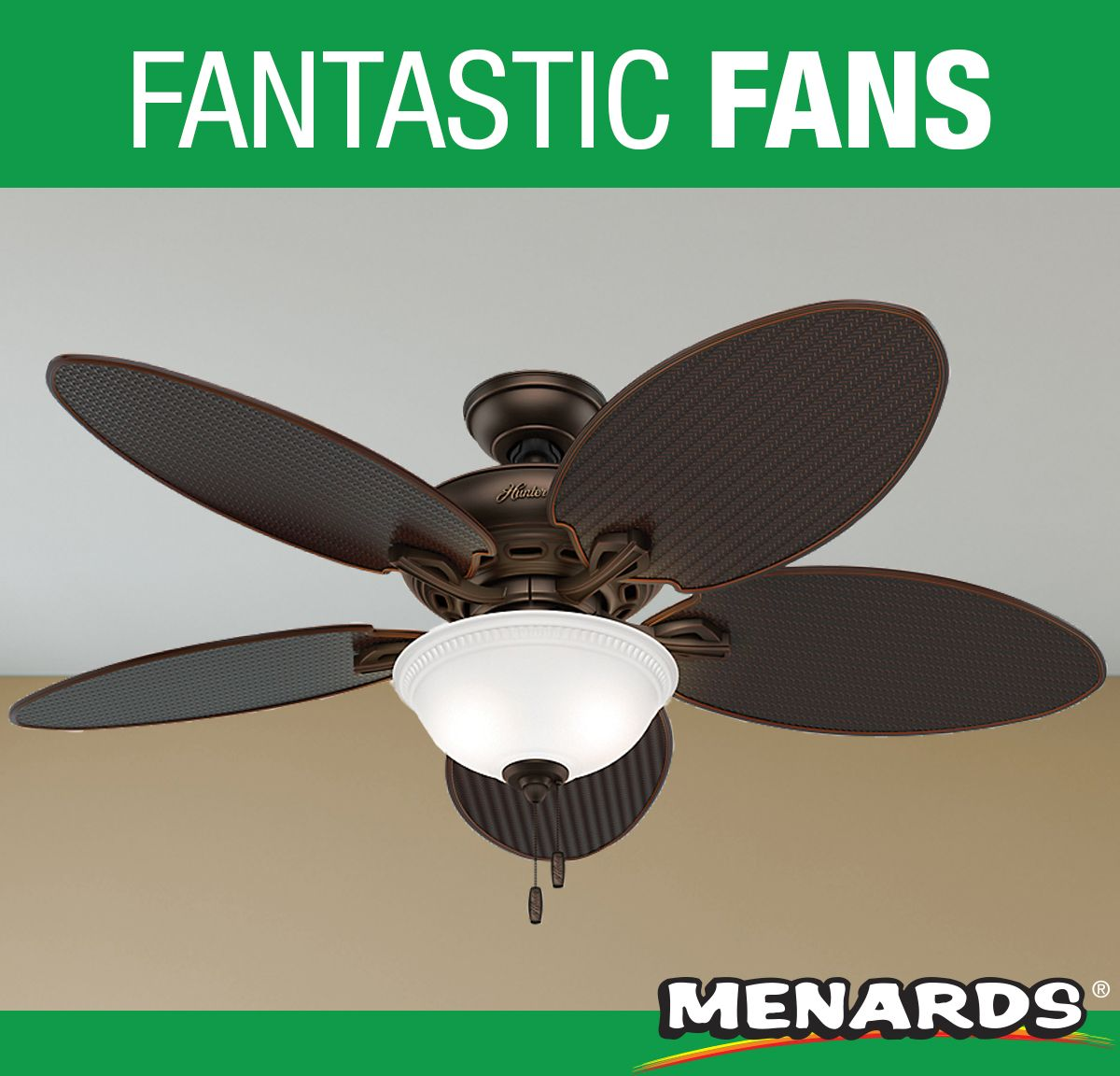 The Hunter Cape Breton Led Ceiling Fan Is A Damp Rated Outdoor Patio Fan With Global Appeal Built To Withstand With Images Patio Fan Outdoor Fans Patio Led Ceiling Fan