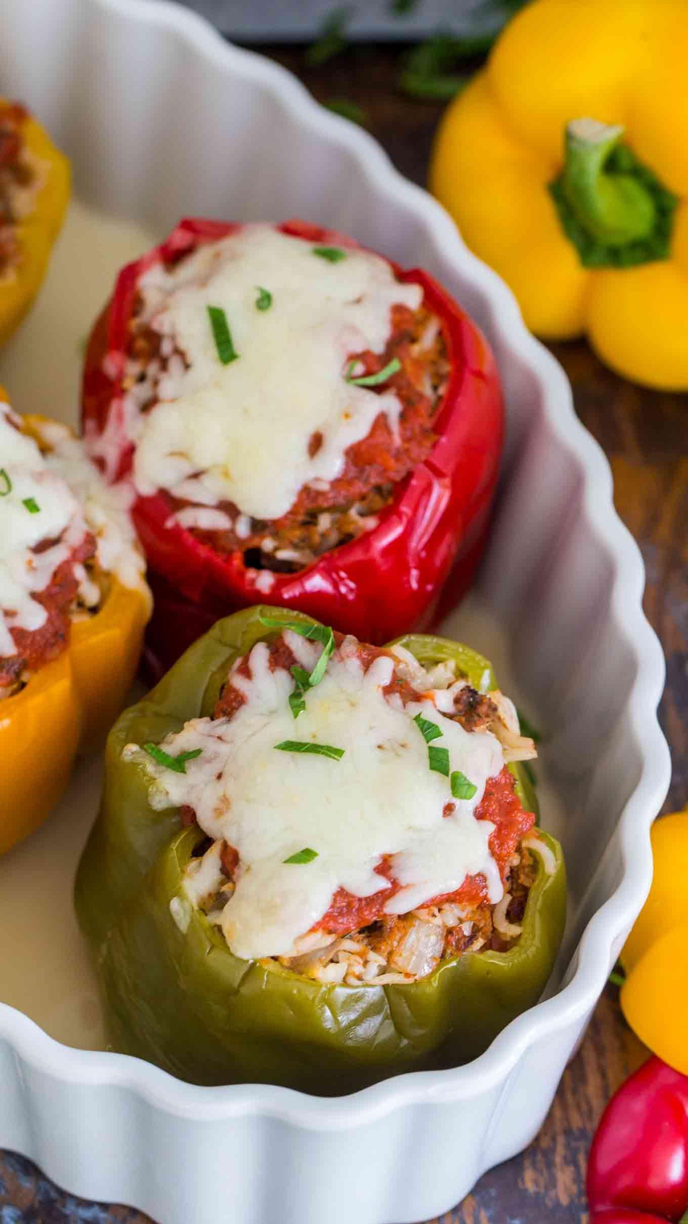Best Instant Pot Stuffed Peppers Video Sweet And Savory Meals Recipe Stuffed Peppers Instant Pot Recipes Easy Instant Pot Recipes