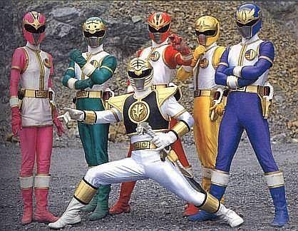 Gosei Sentai Dairanger Com Imagens Power Rangers Tokusatsu