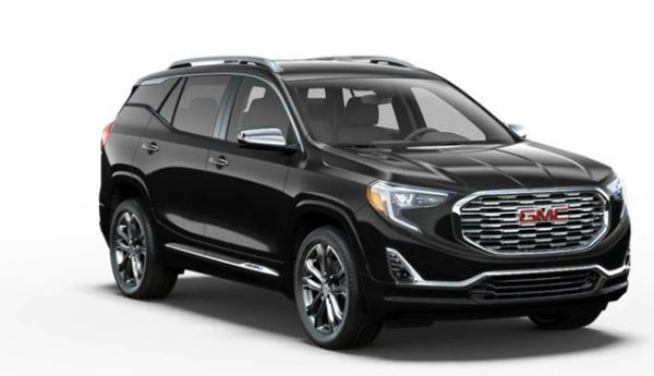 GMC Terrain 2018 Black