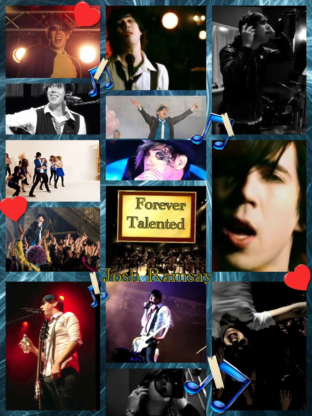 Forever talented. My Tribute to Josh Ramsay