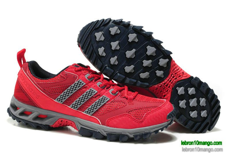 Adidas Kanadia 5 Mens Shoes 2013 Cym Red Wolf Grey