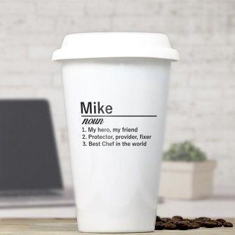 personalised definition ceramic travel